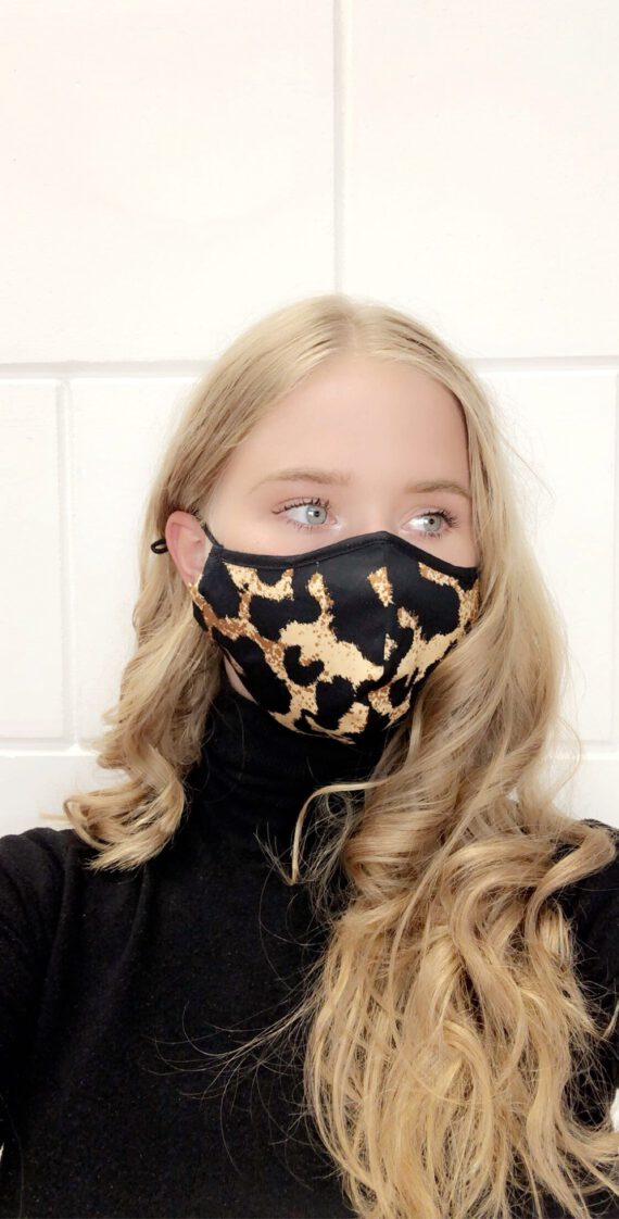 Mouth mask 16 leopard