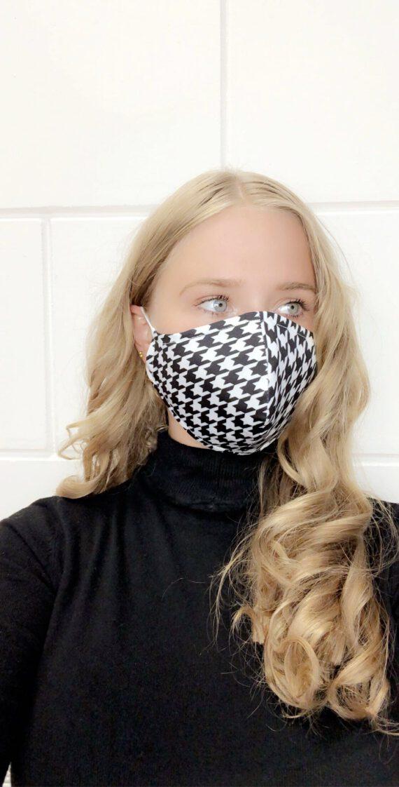 gezichtsmasker 30 zwart wit